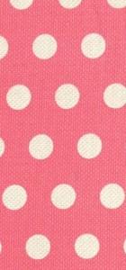 tissu cool dots rose 100% coton Michael Miller