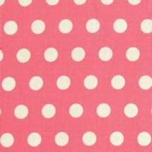 tissu cool dots rose 100% coton Michael Miller
