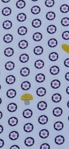 tissu napperons blanc rico design