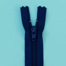 fermeture à glissière bleu marine YKK