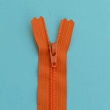 Fermeture à glissière YKK orange 20 et 25 cm