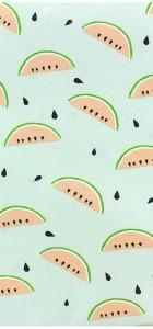 tissu-pastèque-menthe-rico-design-100%-coton