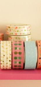 lot de 5 masking tape tropical spring Rico design