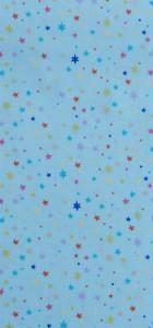 tissu étoiles menthe Rico design 100% coton