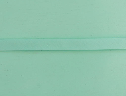 biais uni bleu lagon  Antone et Linette gros plan