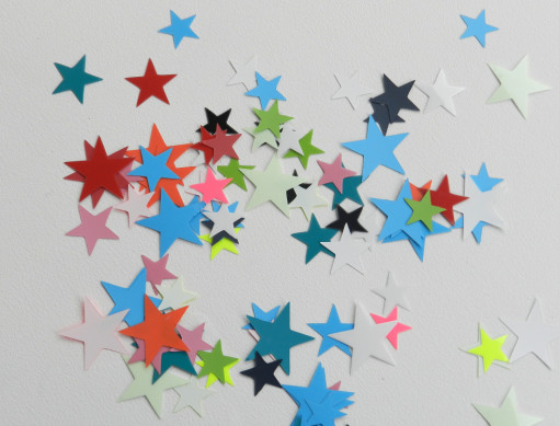 étoiles flex multicolore