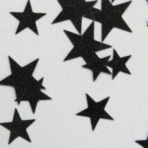 zoom étoiles flex noir glitter