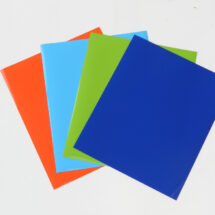 Flex thermocollant orange-bleu-vert pomme-bleu royal