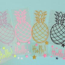 Kit 4 ananas