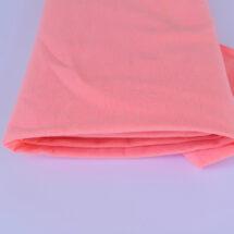 Tissu sweat rose fluo certifié Oeko tex