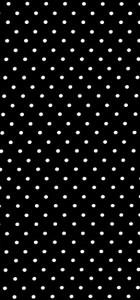 tissu noir/pois blanc 100% coton