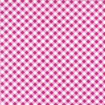 Tissu cross check framboise Michael Miller 100% coton