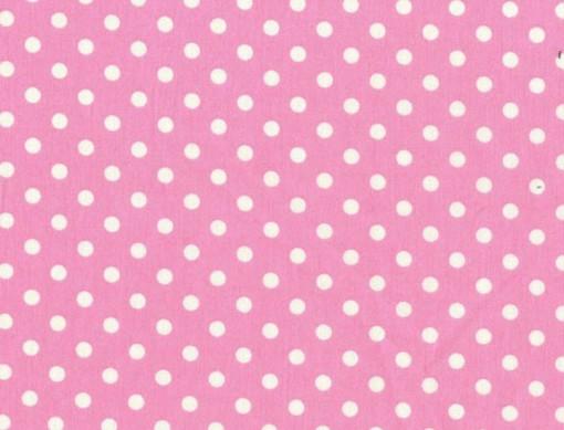 Tissu dumb dot rose Michael Miller 100% coton