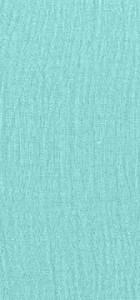 Tissu gaze de coton turquoise 100% coton