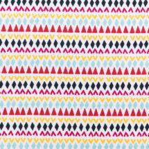 tissu motif ethnique rico design 100% coton