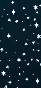 tissu marine étoiles blanches Rico design 100% coton