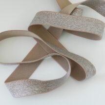 elastique lurex métallisé