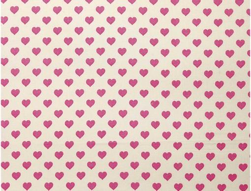 tissu coeur rico design