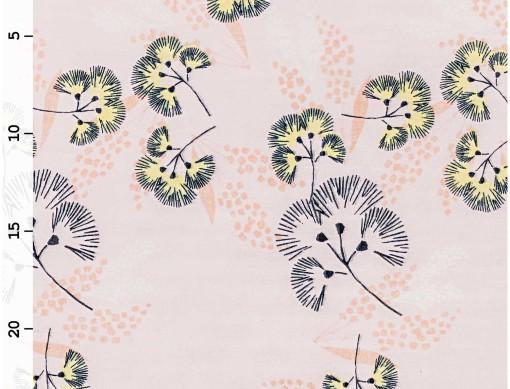 tissu mousseline jardon japonais rico design