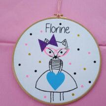 tableau florine la jolie ballerine