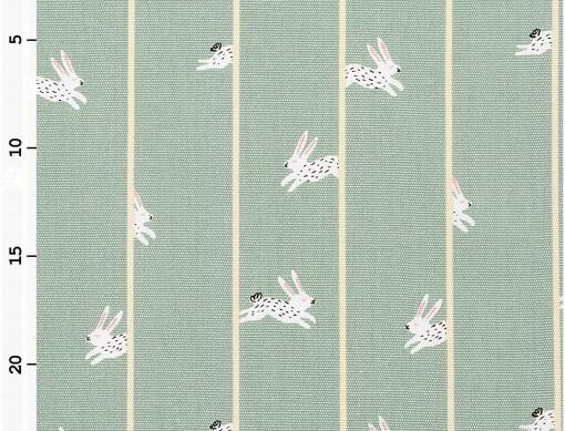 Toile géométrique bunny hop Rico design 100% coton