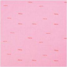 Tissu rose/ traits rose fluo Rico design