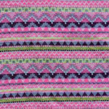 Tissu jacquard en polyester motif géométrique