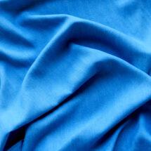 Tissu tencel bleu denim